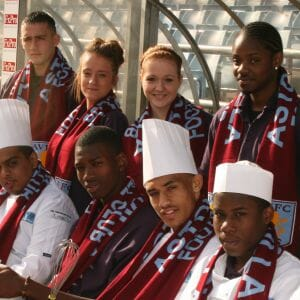 Hospitality apprentices kick-start a career with Aston Villa Football Club