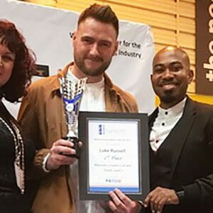 Close Shave for Barbering Student in National Final