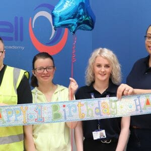 First birthday celebrations for Bell Decorating Academy