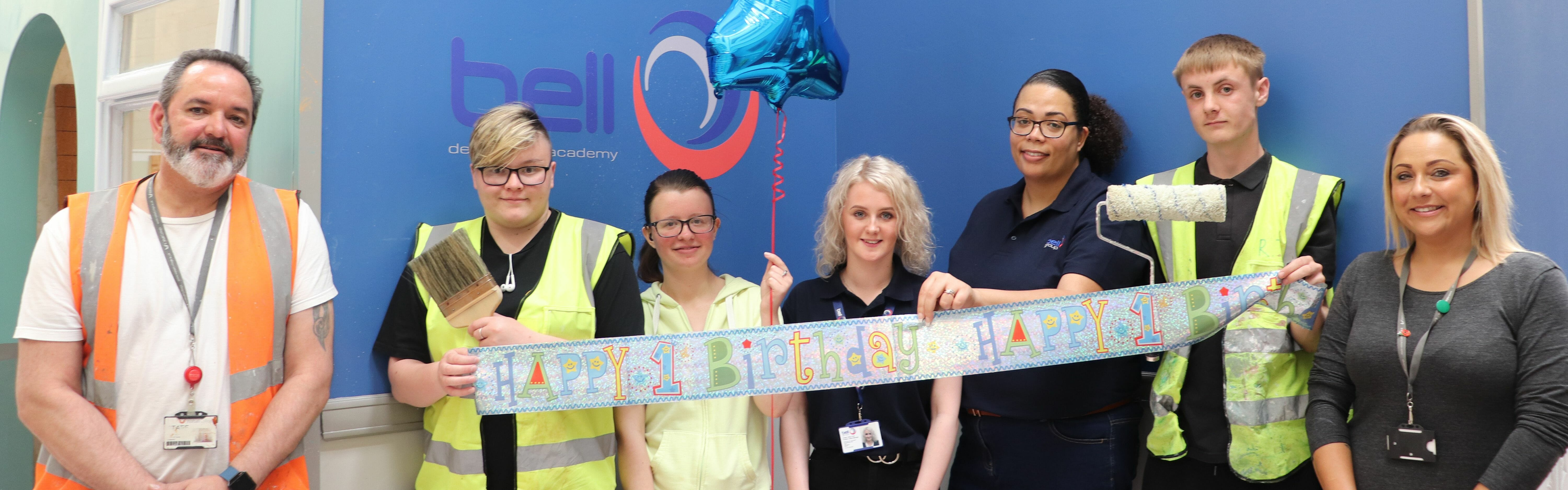 First birthday celebrations for Bell Decorating Academy Headline Picture