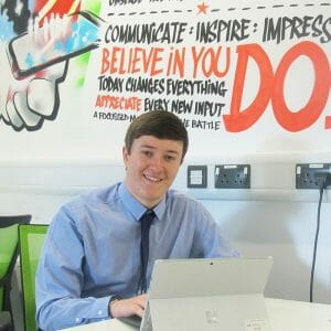 IT Apprentice Aims to Excel in Microsoft Challenge