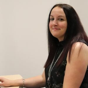 Flexible Distance Learning courses help Rebecca to enhance her career