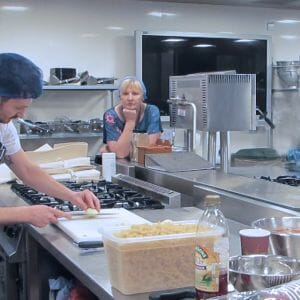 Students receive valuable tips on budget cooking to prepare for university