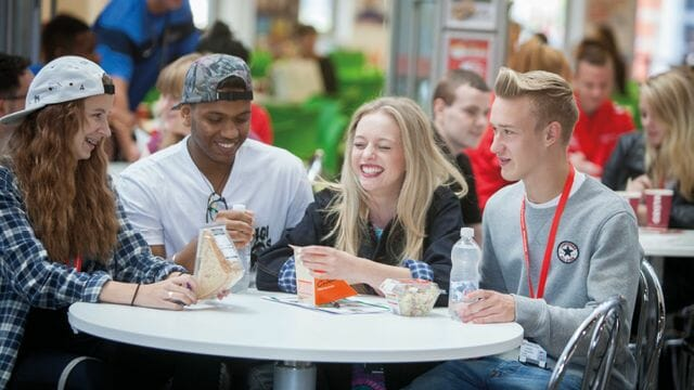 Walsall College - Social spaces