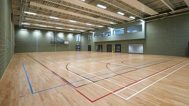 Sports facilities at The Hub