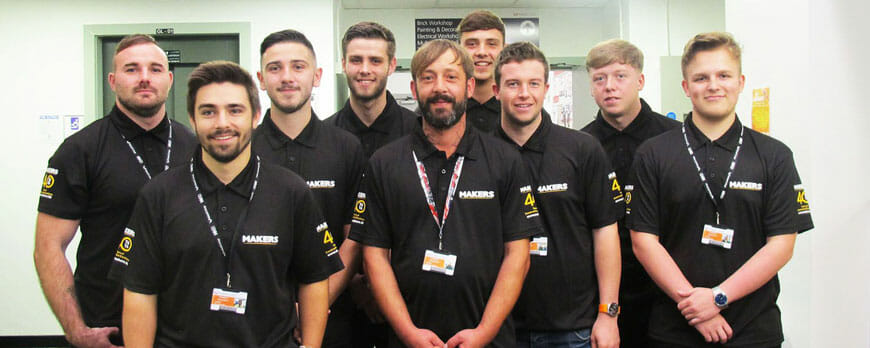 makers construction expands apprenticeship scheme