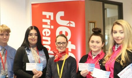 Jet2.com and Jet2holidays fly in for careers sessions