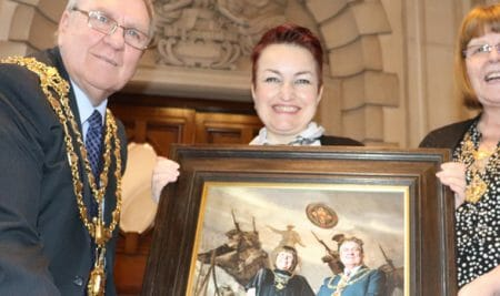 Walsall Mayor declares new portrait to be picture perfect