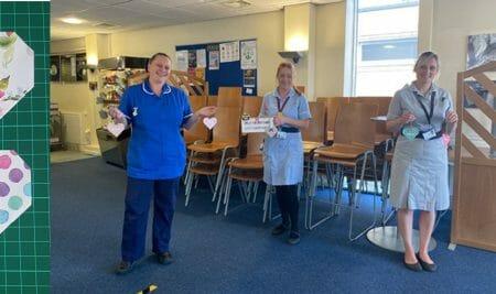 Hayley's heart-warming NHS fundraiser