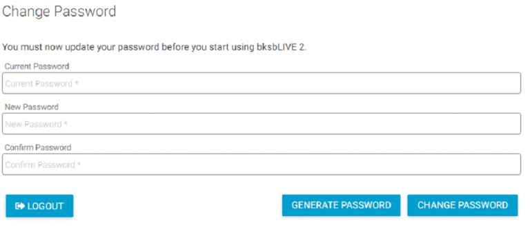 BKSB - Change Password