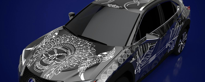 Lexus_UX_Tattoo_KyraCleeton web