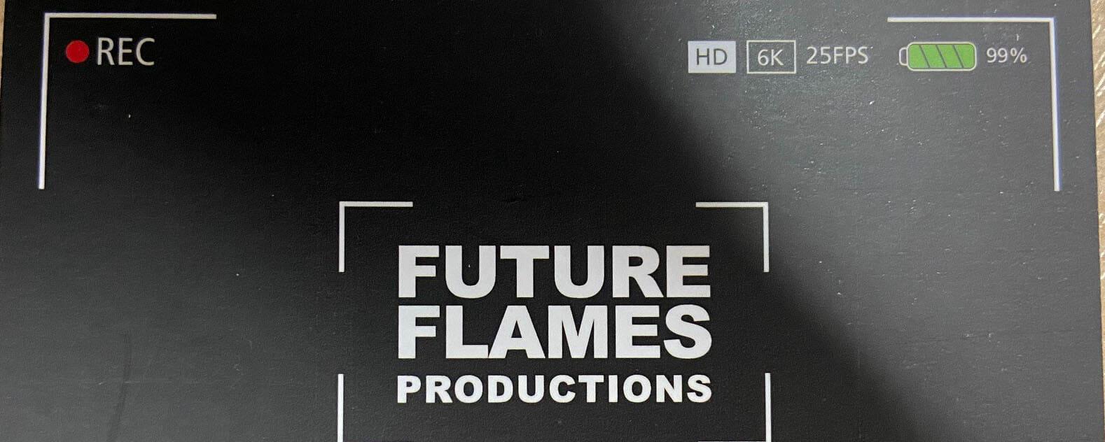 Future Flames business card web