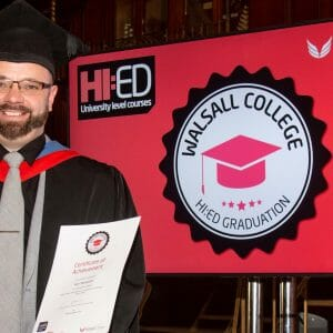 One year on from my higher education graduation student journey – Karl Bickerton