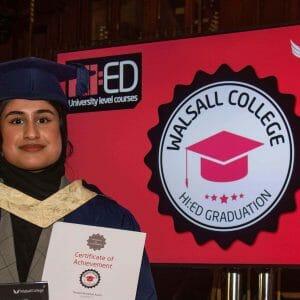 My higher education journey : Sara