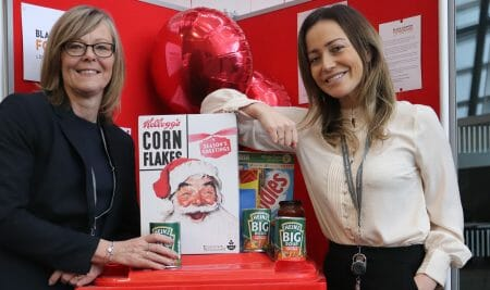 College creates food bank support systems for local families