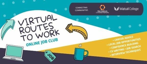 Online job club walsalll