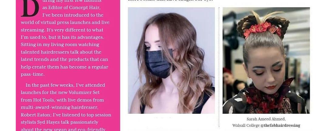 Sarah Saeed Ahmed Concept Hair mag web
