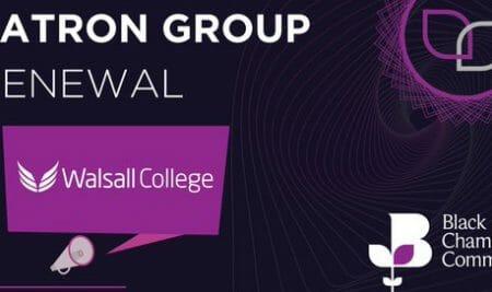 Walsall College renews Chamber patronage