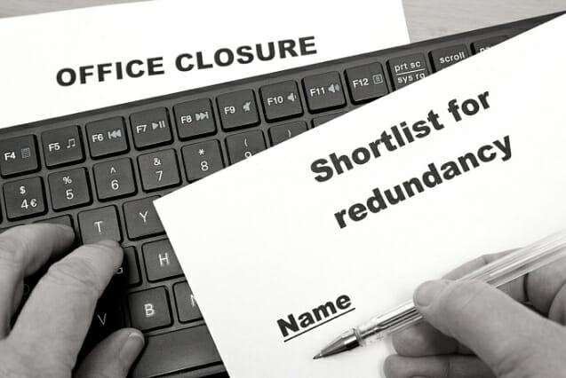 Redundancy service website button