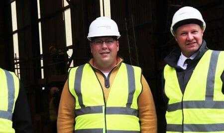 Northfield MP visits Construction College Midlands