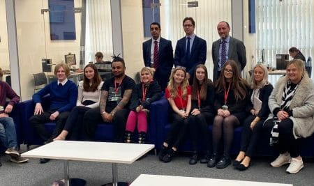 Skills Minister talks T Levels and more at Walsall College