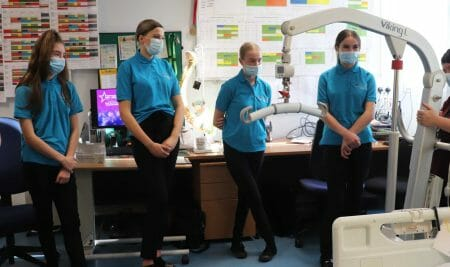Walsall Manor Hospital and Walsall College team up for new T Level Health qualification