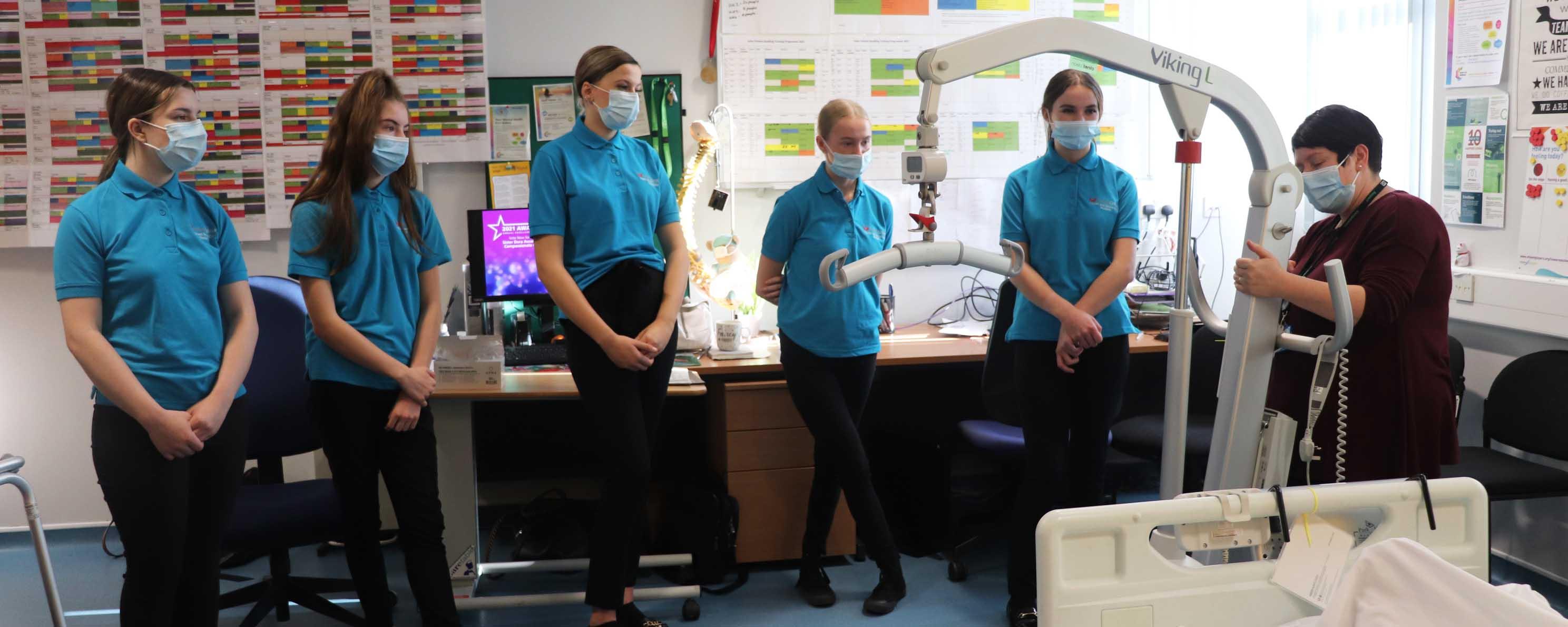 T Level health Manor Hospital web